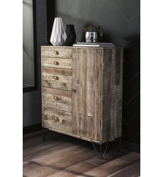 Ashley - Camp Ridge Accent Cabinet - Light Brown ( A4000011 )