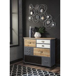 Ashley - Ponder Ridge A4000015 Accent Cabinet - Gray (A4000015)