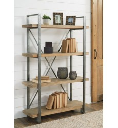 Ashley - Forestmin A4000045 Bookcase - Brown/Black (A4000045)