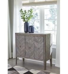 Ashley - Boyerville A4000060 Accent Cabinet - Antique Gray (A4000060)