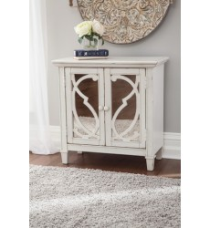 Ashley - Mirimyn A4000062 Accent Cabinet - White (A4000062)