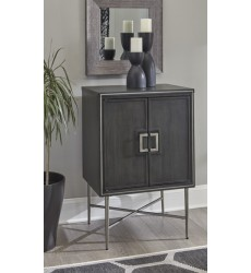 Ashley - Beritbury A4000069 Accent Cabinet - Antique Gray (A4000069)