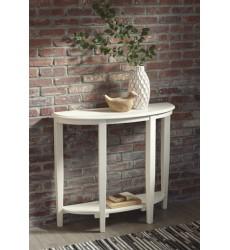 Ashley - Altonwood A4000121 Console Sofa Table - White (A4000121)