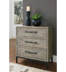 Ashley - Cartersboro A4000195 Accent Chest - Brown/Black (A4000195)