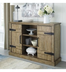 Ashley - Susandeer A4000220 Accent Cabinet - Brown (A4000220)