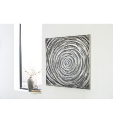 Ashley - Adda A8000219 Wall Art - Silver/Gray (A8000219)