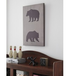Ashley - Albert Wall Art - Black/Tan ( A8000229 )