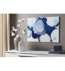 Ashley - Ariadna A8010024 Wall Decor - Blue/White (A8010024)