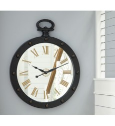 Ashley - Juan A8010111 Wall Clock - Brown (A8010111)