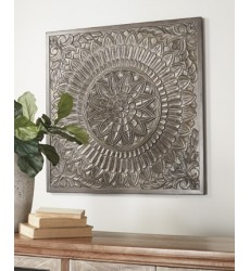 Ashley - Briony A8010137 Wall Decor - Antique Gray (A8010137)
