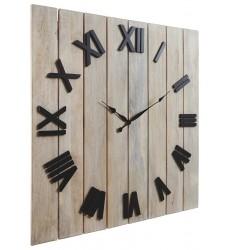 Ashley - Bronson  A8010179 Wall Clock - Whitewash/Black(A8010179)