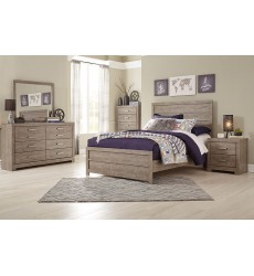 Ashley - Culverbach B070 Full/QueenKing Bed - Gray