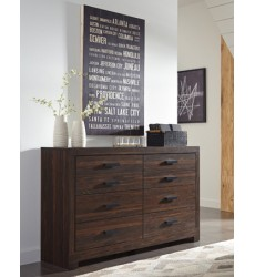 Ashley - Arkaline Dresser - Brown ( B071-31 )