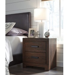 Ashley - Arkaline Two Drawer Night Stand - Brown ( B071-92 )