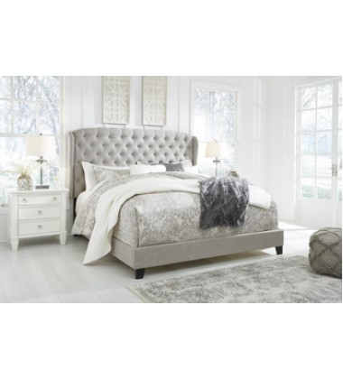Ashley - Jerary B090 Queen Upholstered Bed - Multi (B090-981)
