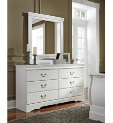 Ashley - Anarasia B129 Bedroom Mirror - White (B129-36)