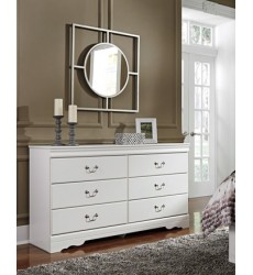 Ashley - Anarasia Dresser - White ( B129-31 )