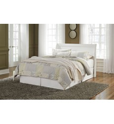 Ashley - Anarasia Queen Sleigh Headboard - White ( B129-77 )
