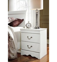 Ashley - Anarasia Two Drawer Night Stand - White ( B129-92 )