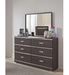Ashley - Annikus B132 Bedroom Mirror - Gray (B132-26)