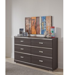 Ashley - Annikus B132 Dresser - Gray (B132-21)