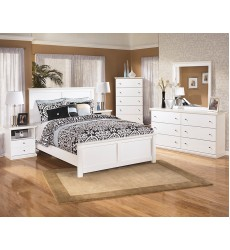 Ashley - Bostwick Shoals B139 Twin/Full/Queen/King Panel/Storage Bed - White
