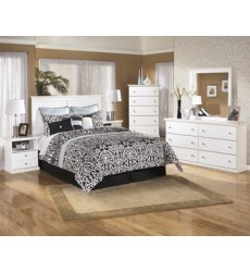 Ashley - Bostwick Shoals B139 One Drawer Night Stand - White (B139-91)