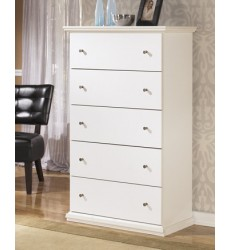 Ashley - Bostwick Shoals B139 Five Drawer Chest - White (B139-46)