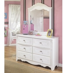 Ashley - Exquisite B188Y Bedroom Mirror - White (B188-26)