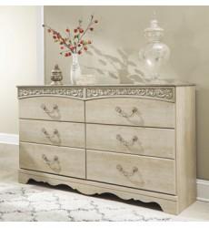 Ashley - Catalina B196 Dresser - Antique White (B196-31)