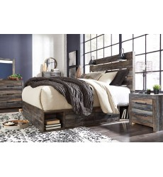 Ashley - Drystan B211 Twin/Full/Queen/King/Cal King Bed - Multi (Storage option)