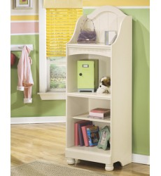 Ashley - Cottage Retreat B213 Large Bookcase - Cream Cottage (B213-20)