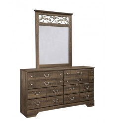 Ashley - Allymore B216 Bedroom Mirror - Brown (B216-36)