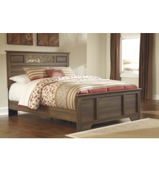 Ashley - Allymore B216 Queen/Full Panel Footboard - Brown (B216-51)