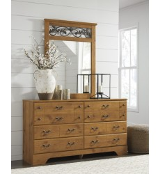 Ashley - Bittersweet B219 Bedroom Mirror - Light Brown (B219-36)