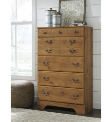 Ashley - Bittersweet B219 Five Drawer Chest - Light Brown (B219-46)