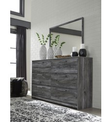 Ashley - Baystorm B221 Bedroom Mirror - Gray (B221-36)