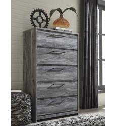 Ashley - Baystorm B221 Five Drawer Chest - Gray (B221-46)