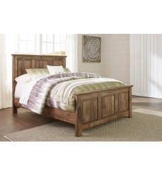 Ashley - Blaneville B224 Full/Queen/King/Cal King Panel/Storage Bed - Brown