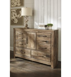 Ashley - Blaneville Dresser - Brown ( B224-31 )