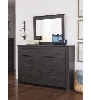 Ashley - Brinxton B249 Bedroom Mirror - Charcoal (B249-36)