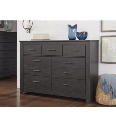 Ashley - Brinxton B249 Dresser - Black (B249-31)