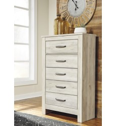 Ashley - Bellaby B331 Five Drawer Chest - Whitewash (B331-46)