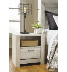 Ashley - Bellaby One Drawer Night Stand - Whitewash ( B331-91 )