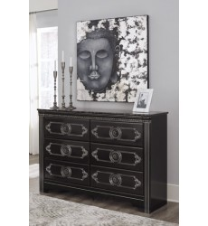 Ashley - Banalski B342 Dresser - Dark Brown (B342-31)