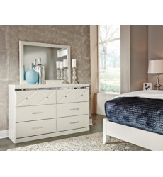Ashley - Dreamur B351 Dresser - Champagne (B351-31)