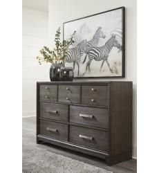 Ashley - Brueban B497 Dresser - Gray (B497-31)