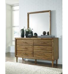 Ashley - Broshtan B518 Bedroom Mirror - Light Brown (B518-36)