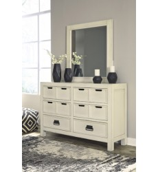 Ashley - Blinton B523 Bedroom Mirror - White (B523-26)