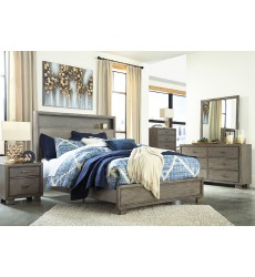 Ashley - Arnett B552 Twin/Full/Queen/King Storage bed - Gray